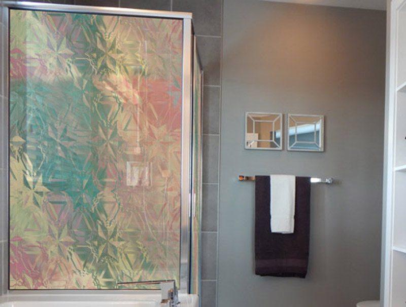מדבקת קיר | מדבקה לזכוכית | זכוכית צבעונית